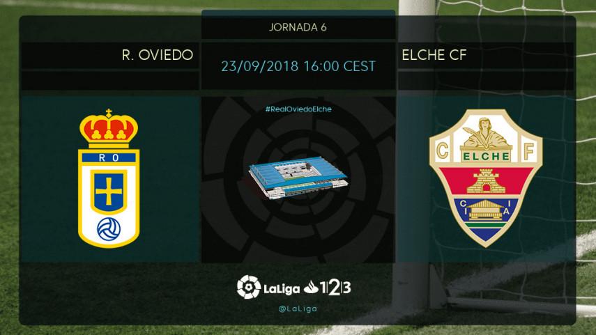 El Elche busca su primera victoria ante el Real Oviedo