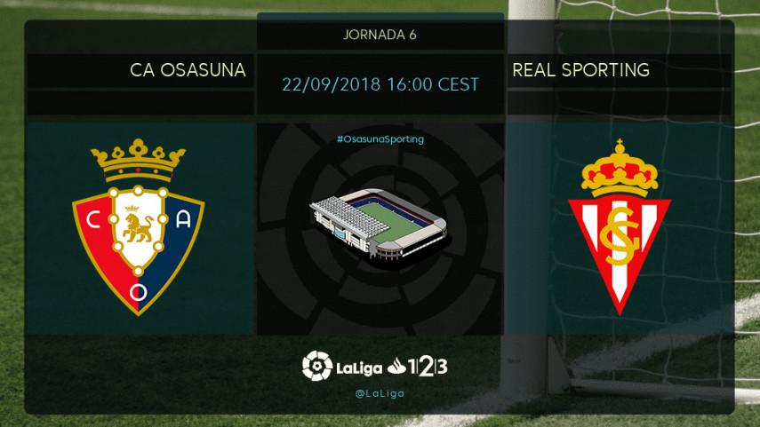 Osasuna y Sporting, a por la regularidad