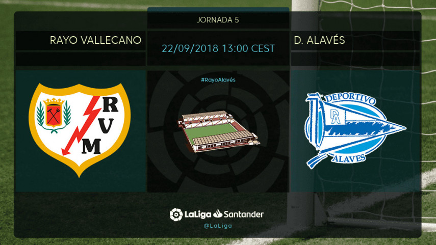 Rayo Vallecano y Alavés, dos aspirantes a seguir ganando