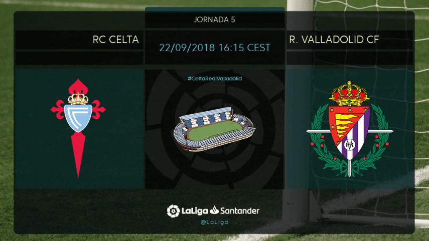 El R. Valladolid busca cambiar de rumbo ante un ilusionante Celta