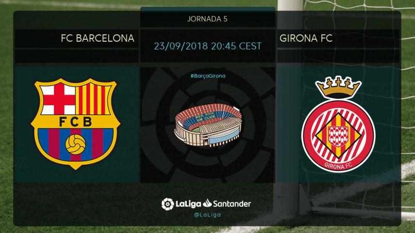 El FC Barcelona mide la ambición del Girona FC