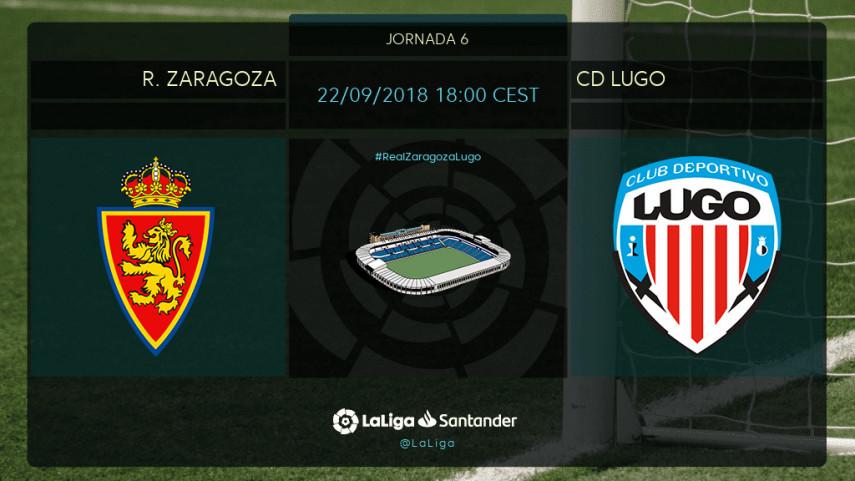 Real Zaragoza y Lugo quieren volver al camino del triunfo