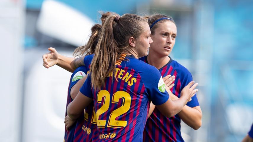 El FC Barcelona se lleva el derbi catalán de la Liga Femenina Iberdrola