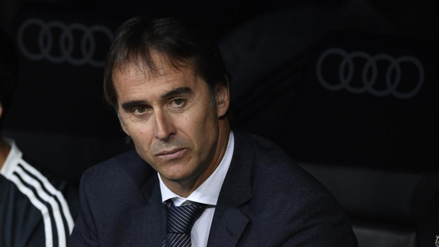 Real Madrid part company with head coach Lopetegui