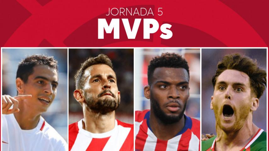 Elige al MVP de la jornada 5 de LaLiga Santander
