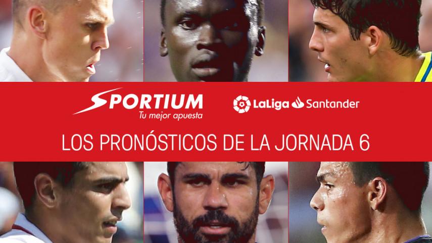 Los pronósticos de la jornada 6 de LaLiga Santander