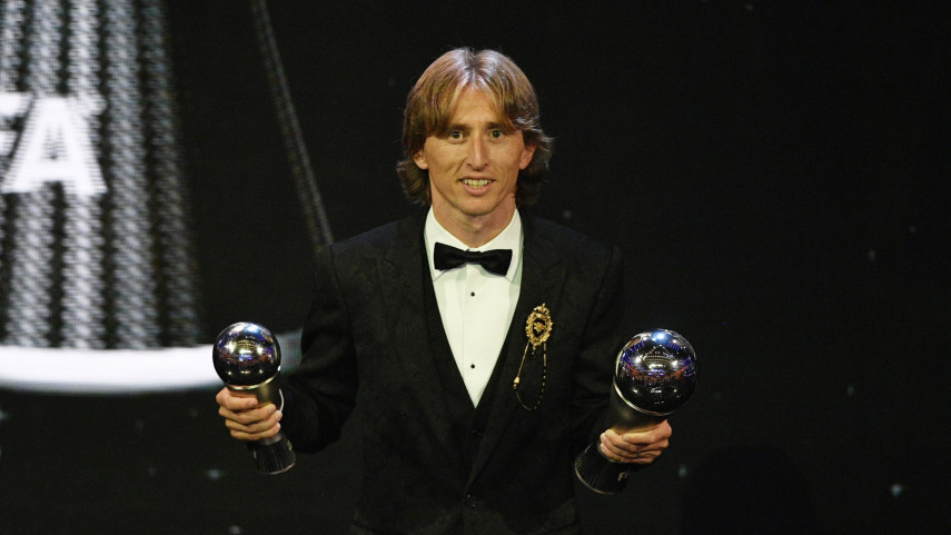 Luka Modrić gana el premio 'The Best FIFA Men's Player'