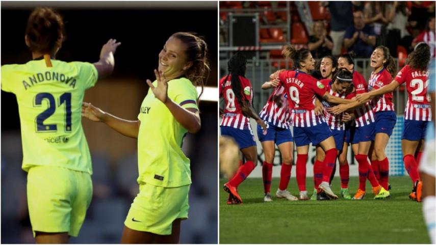 FC Barcelona y At. Madrid Femenino consiguen el pase a los octavos de la Women's Champions League