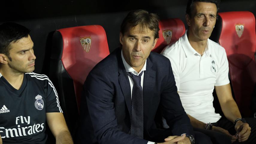 Julen Lopetegui is the new coach of Sevilla FC