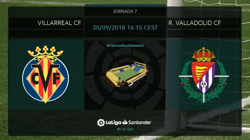 Villarreal y Valladolid miden sus buenas sensaciones