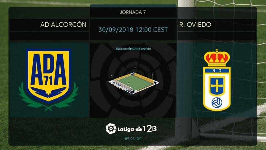 La solidez defensiva del Alcorcón evalúa al R. Oviedo