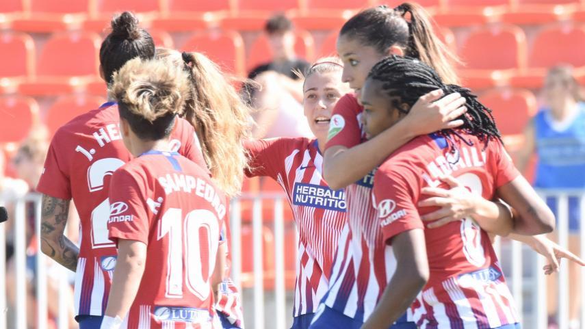 El At. Madrid Femenino no echa el freno