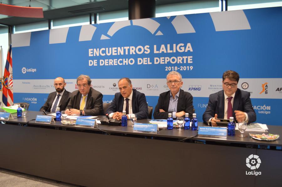 Inauguración de los Encuentros LaLiga de Derecho del Deporte 2018-2019