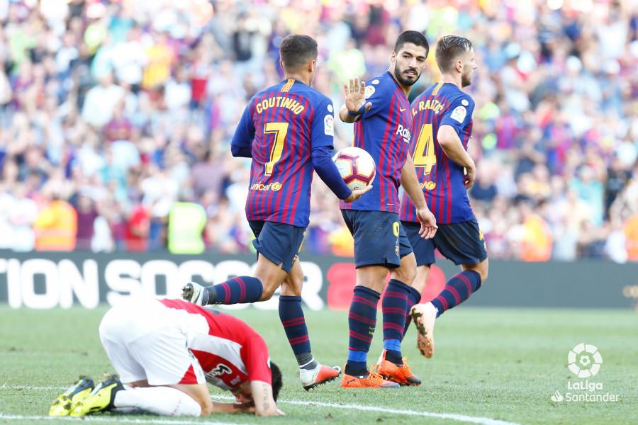 Примера. 7-й тур. Барселона - Атлетик 1:1. Ускорение ко дну - изображение 1