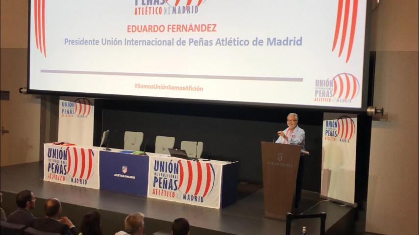 La II Asamblea Internacional de Peñas del Atlético de Madrid