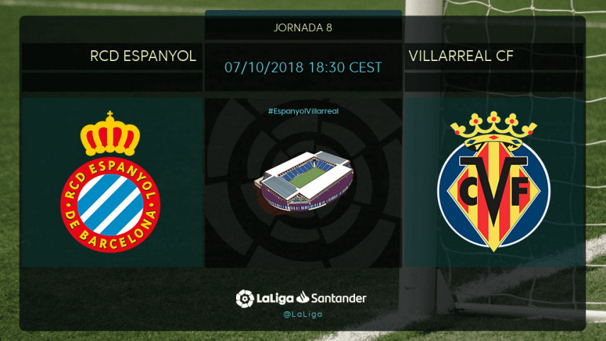 El Villarreal quiere asaltar el fortín del RCDE Stadium