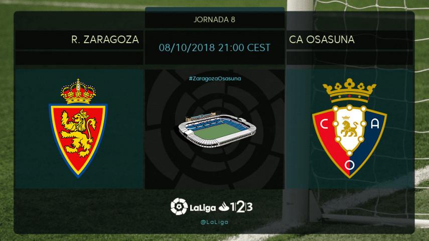 Nada de medias tintas para Zaragoza y Osasuna