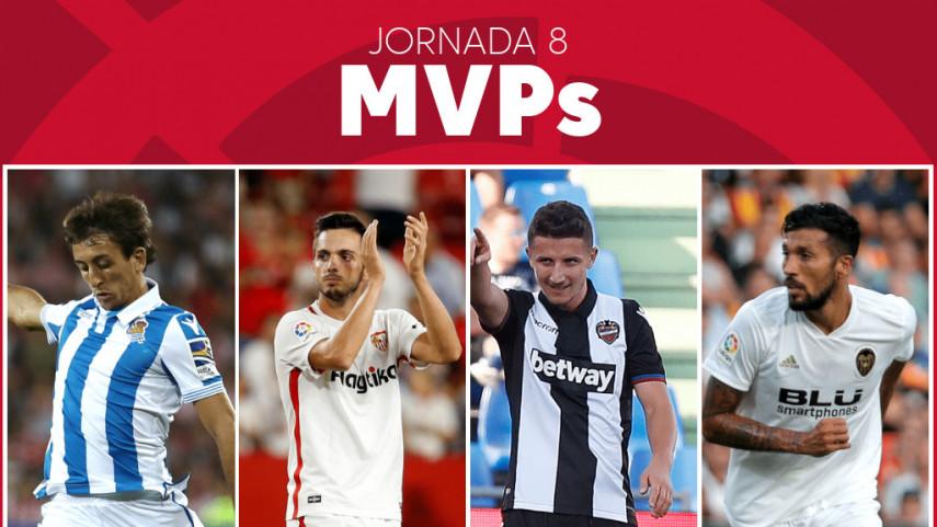 Elige al MVP de la jornada 8 de LaLiga Santander