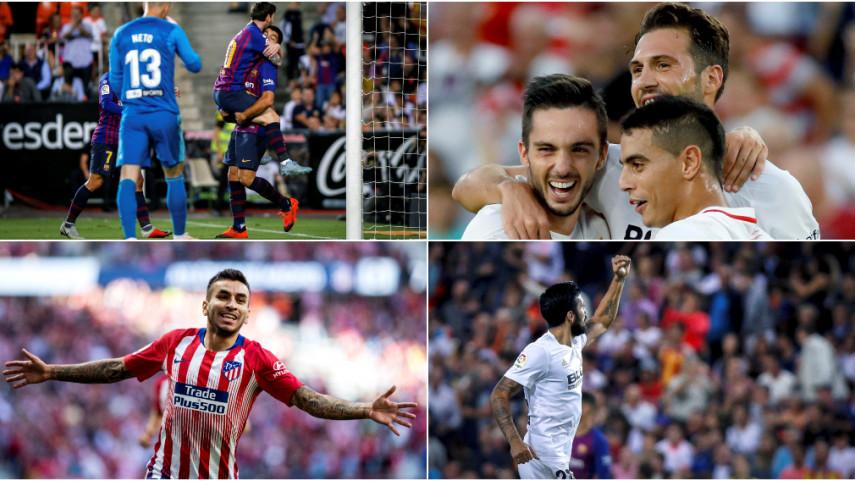 LaLiga Santander Matchday 8 in numbers
