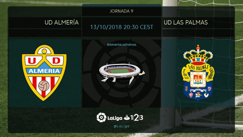 Almería y Las Palmas quieren redimirse