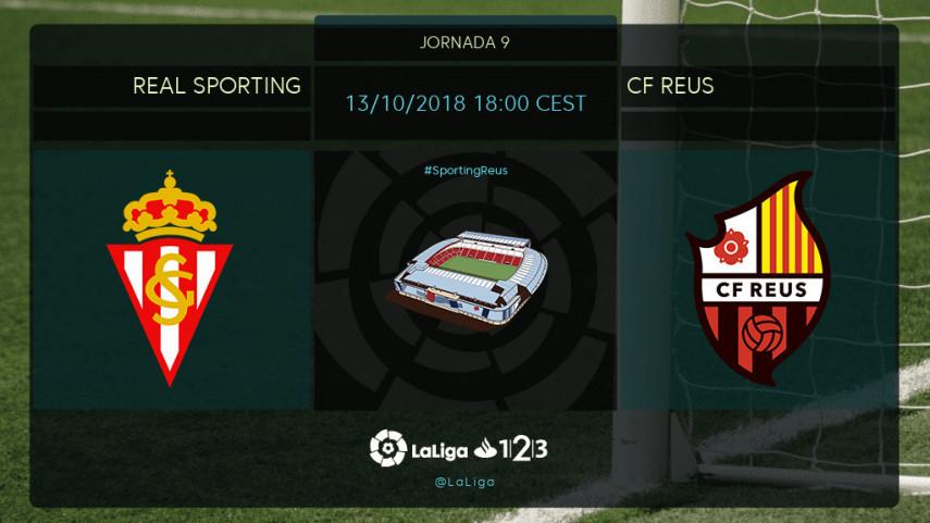 Sporting y Reus, a remontar el vuelo