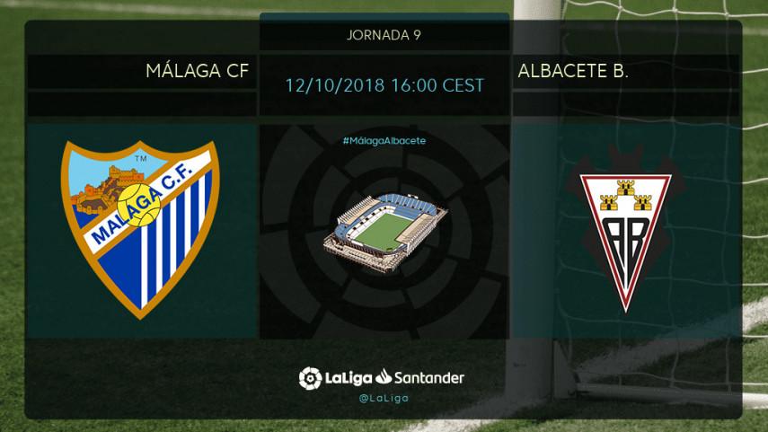 Málaga y Albacete, dos equipos que no quieren perder el ritmo