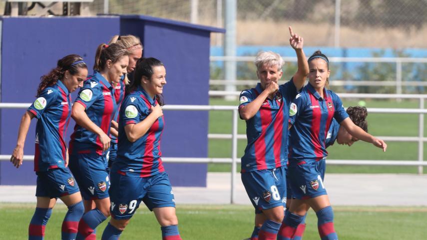 El Levante no pierde la estela de los puestos de arriba en la Liga Iberdrola