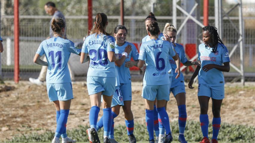 El At. Madrid Femenino mantiene su pleno de victorias