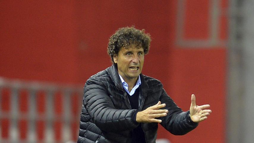 Imanol Idiakez deja de ser entrenador del Real Zaragoza