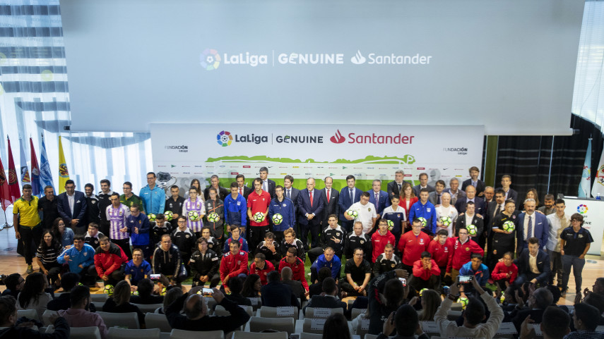 Todo preparado para el arranque de la segunda temporada de LaLiga Genuine Santander