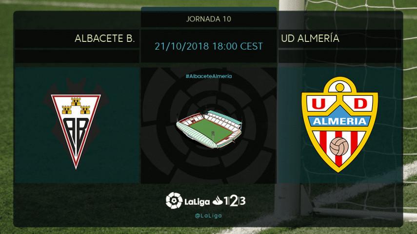 Albacete BP y UD Almería, con los play-off en mente