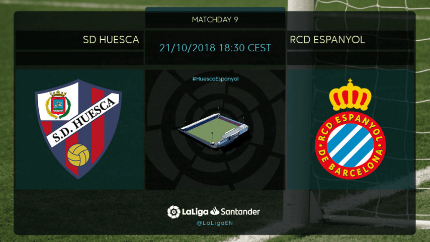 Francisco set for Huesca bow in Espanyol clash