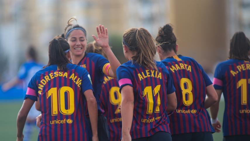 El FC Barcelona continúa imparable en la Liga Iberdrola