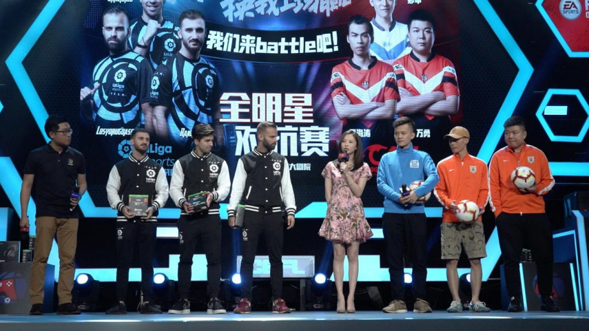 El equipo de eSports de LaLiga debuta en China