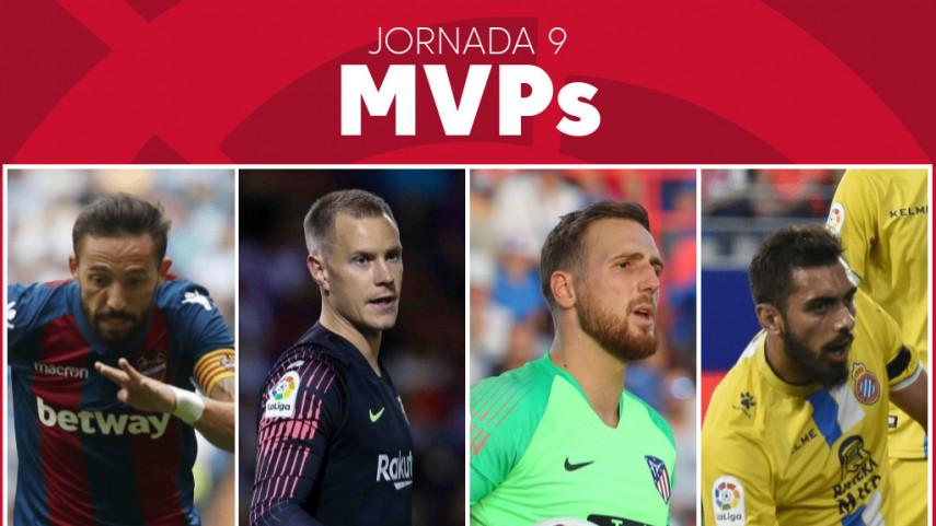 Elige al MVP de la jornada 9 de LaLiga Santander