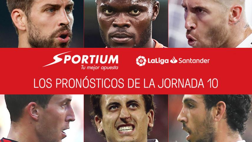 Los pronósticos de la jornada 10 de LaLiga Santander