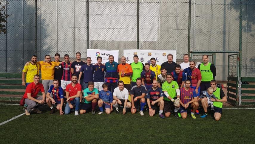 Inaugurada oficialmente la primera peña del Barça en Hungría