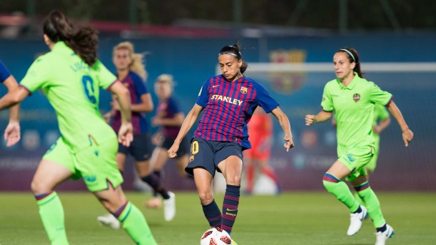 El Levante UD frena al FC Barcelona en la Liga Iberdrola