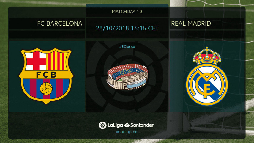 Everything to play for in El Clasico