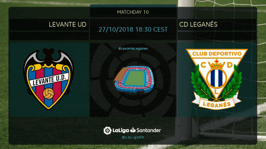 In-form Levante face Leganes test
