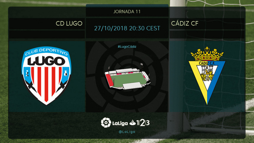 El Cádiz, a iniciar la remontada en Lugo