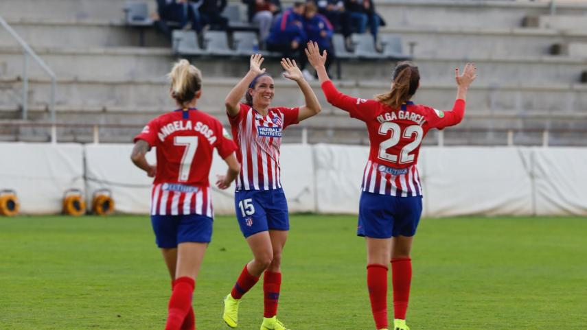 Suma y sigue el At. Madrid Femenino en la Liga Iberdrola
