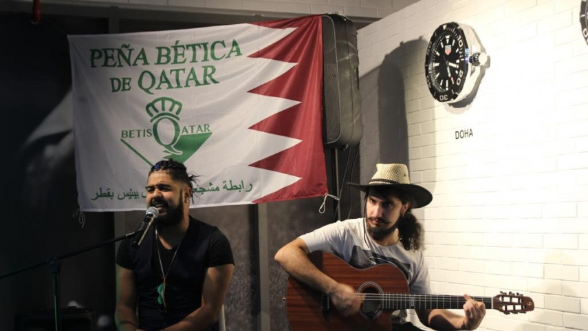 Doha vive la 'Fiesta del Betis'