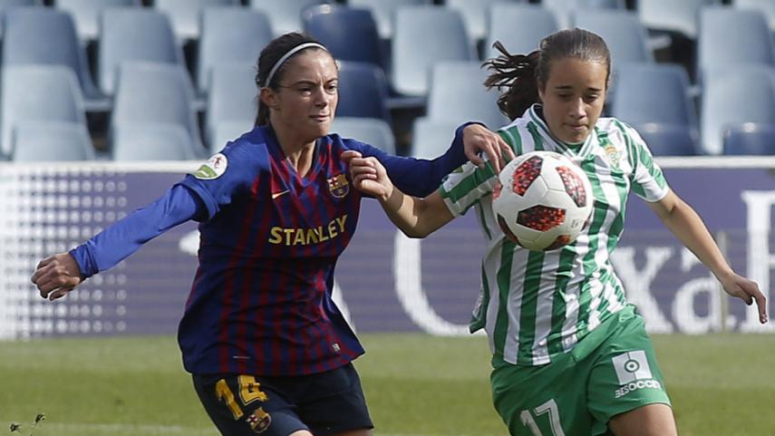 El Barça recupera sensaciones ante el R. Betis Féminas