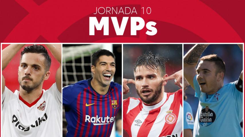 Elige al MVP de la jornada 10 de LaLiga Santander