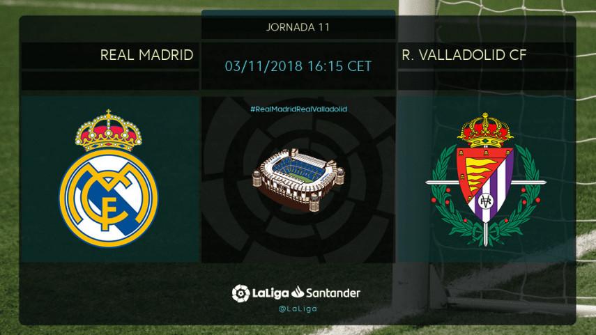 Solari debuta en el Bernabéu ante el R. Valladolid CF