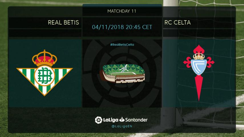 Goals on the menu as Betis host Celta