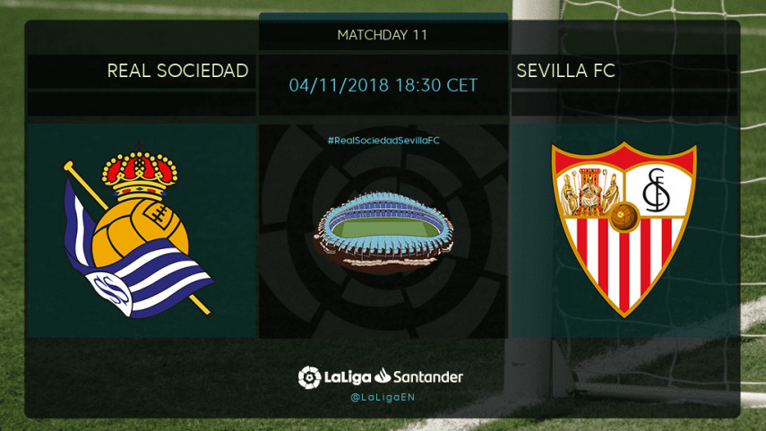 Real Sociedad chasing first home win against Sevilla FC