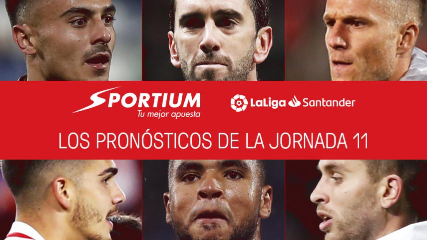 Los pronósticos de la jornada 11 de LaLiga Santander