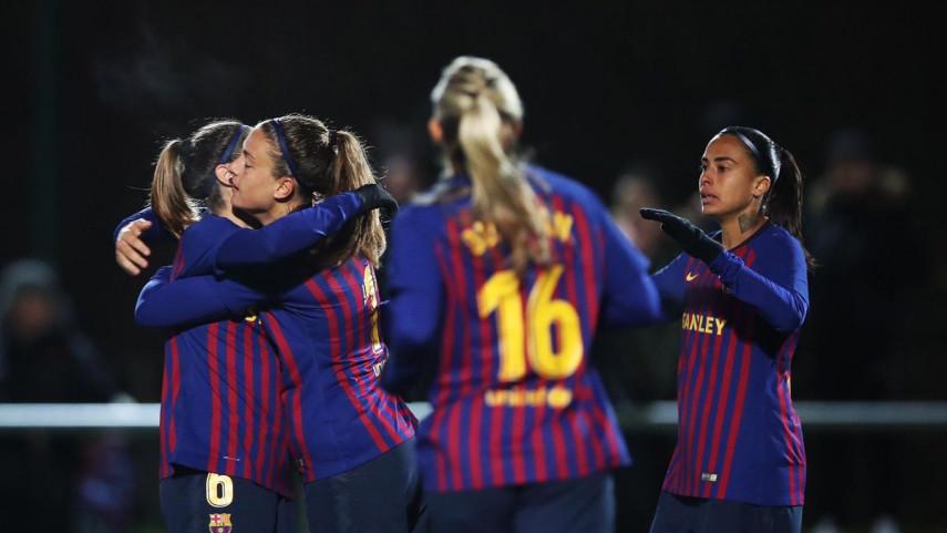 El Barcelona Femenino, a cuartos de la Women's Champions League